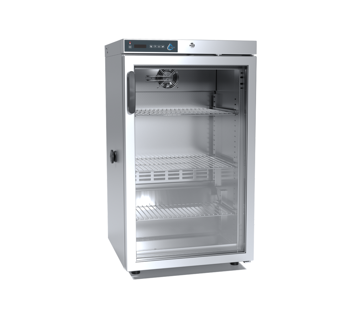 CHL-3-STD-INOX-C-glass, laboratórna chladnička